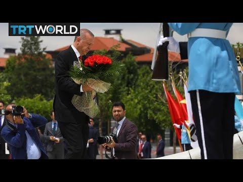 A Night of Defiance: Erdogan attending flower-laying ceremony