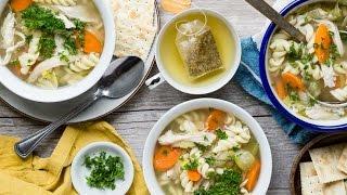 Slow Cooker Chicken Noodle Soup - Healthy Recipes - Weelicious