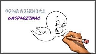 Como desenhar o GASPARZINHO