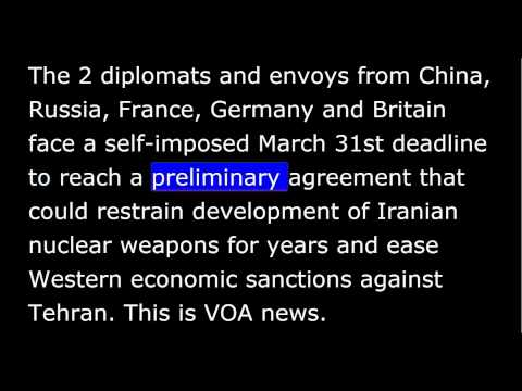 VOA news for Thursday, March 26th, 2015