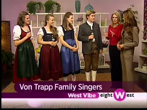 SIGNED MARIA VON Trapp Family Folk Singers Biography ...