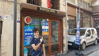 TOSTÇU EROL'A GİDİP EFSANE ATOM TOST YEDİK!!!