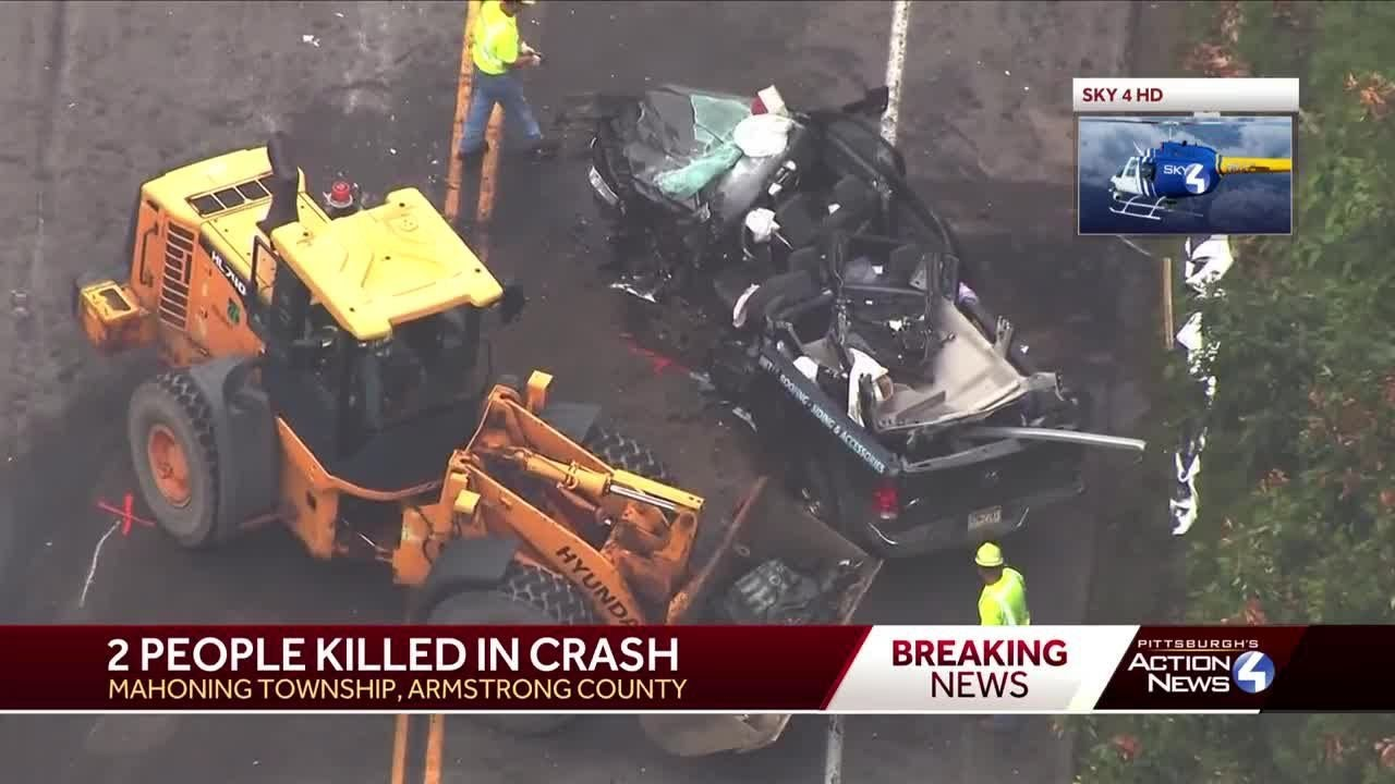 2 dead in collision on Route 28/66 in Armstrong County