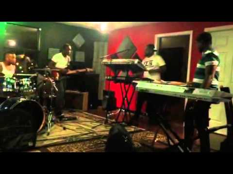 The Red Camp (rehearsing) for Tye Tribbett - I want it back