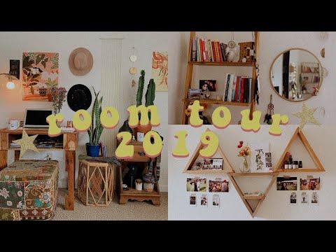 ⭐️ Earthy & Boho Room Tour 2019 ⭐️