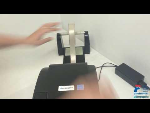 Ribbon Printing Machine Demonstration