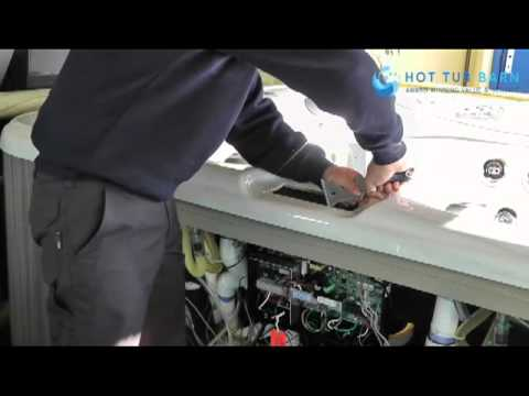 Replacing A Hot Tub Top Side Control Panel Youtube