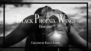 Artist Universe   Black Phoenix Wing Dedication