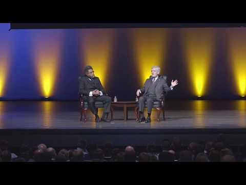 Doctors Cornell West and Robert George speak at NCLS 18