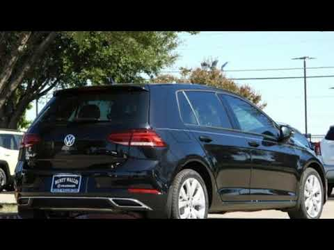 New 2019 Volkswagen Golf Dallas TX Garland, TX #V190953