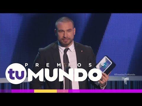 Rafael Amaya es el Protagonista Favorito  Premios Tu Mundo 2017  Entretenimiento