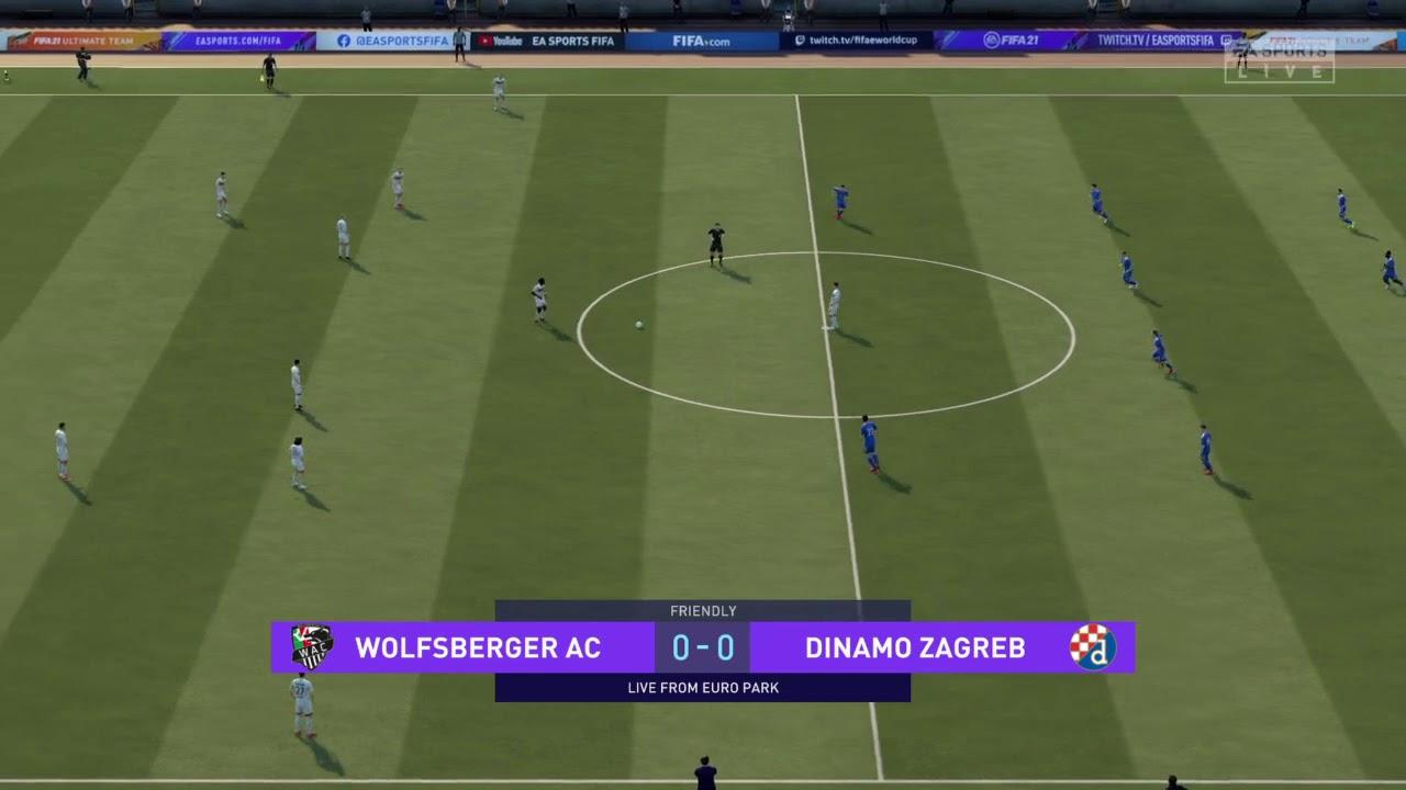 Wolfsberger V Dinamo Zagreb Fifa 21 Prediction Youtube