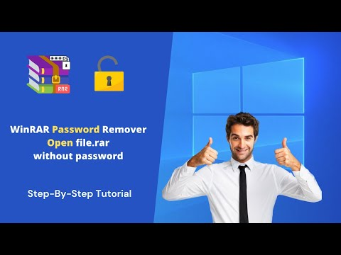 WinRAR Password Remever [Open file rar without password ]