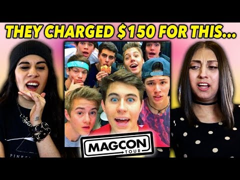 The MAGCON Boys Charged People $150 For THIS... 💀 (Shawn Mendes, Nash Grier, Cameron Dallas)