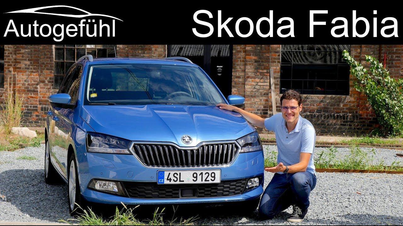 Skoda Fabia FULL REVIEW Facelift 2019 Estate Combi vs Hatch new neu ...