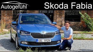 Skoda Fabia FULL REVIEW Facelift 2019 Estate Combi vs Hatch new neu - Autogefühl