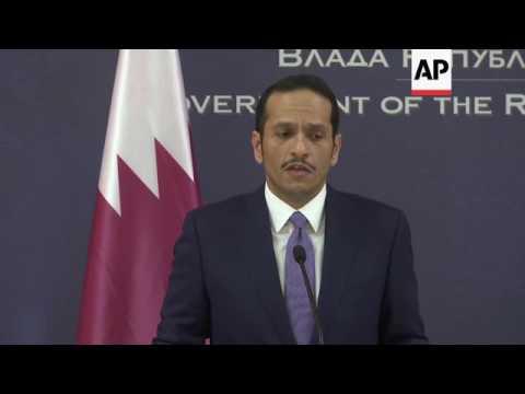 Qatari FM on US immigration policy
