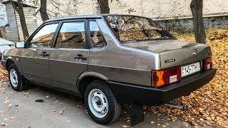 Новая 21099: Первая Поездка ЗА 25 ЛЕТ ВАЗ Lada Капсула Времени