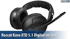 Gaming-Headset: Roccat Kave XTD 5.1 Digital im PC-WELT-Test | deutsch / german