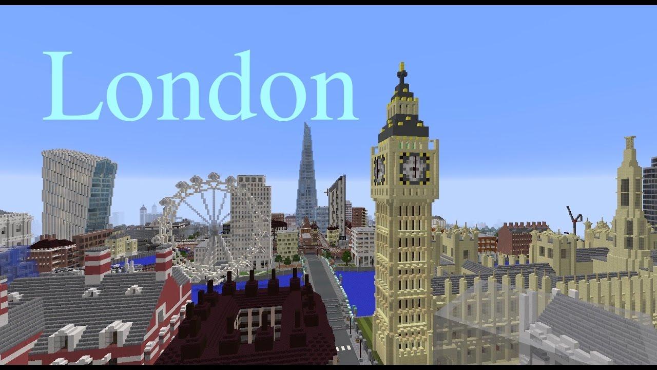 картинки лондон в майнкрафте прогулка