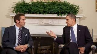 President Obama Meets with Botswana President Khama