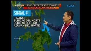 UB: Weather update as of 5:51 a.m. (November 19, 2018)