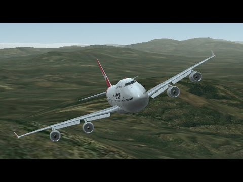 Infinite Flight Simulators broadcast. Qantas Airlines Boeing-747-400/Sydney Australia (YSSY Airport)