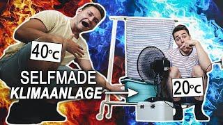 Nie wieder SCHWITZEN! 🥵 Klimaanlage selber bauen ❄   Max und Chris