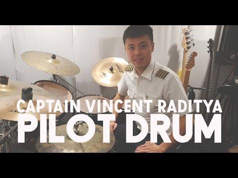 Edisi Pilot Drum Captain Vincent Raditya
