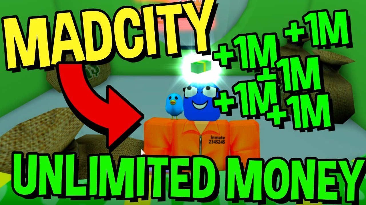 Mad City How To Get Unlimited Money Working Roblox Youtube