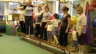 Лечебная физкультура в детском саду вместе с родителями