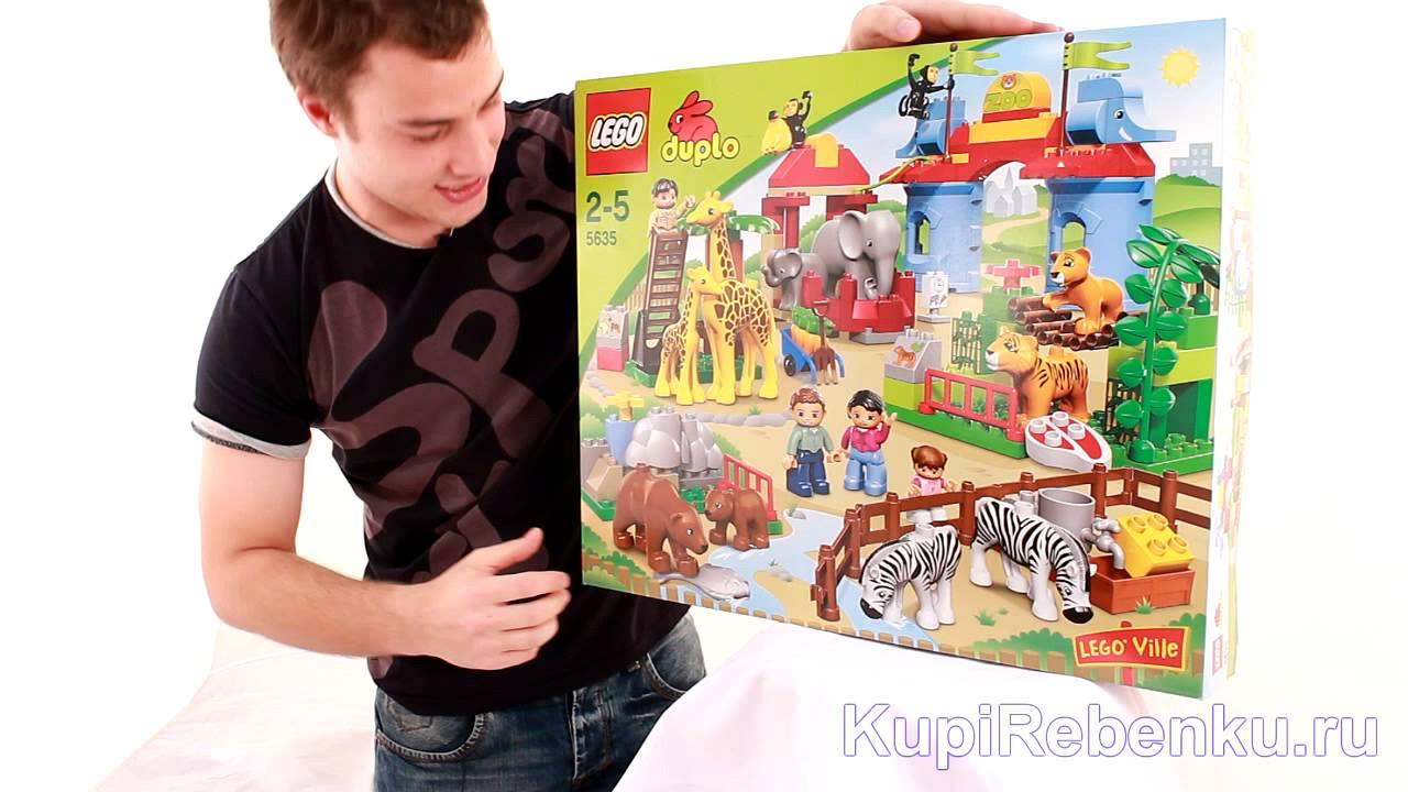 LEGO Duplo 6156 Фотосафари - YouTube