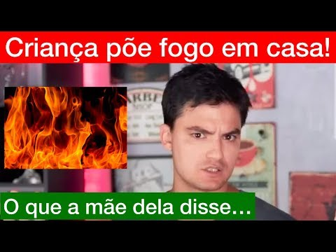 Criança põe fogo em casa após vídeo do Felipe Neto!