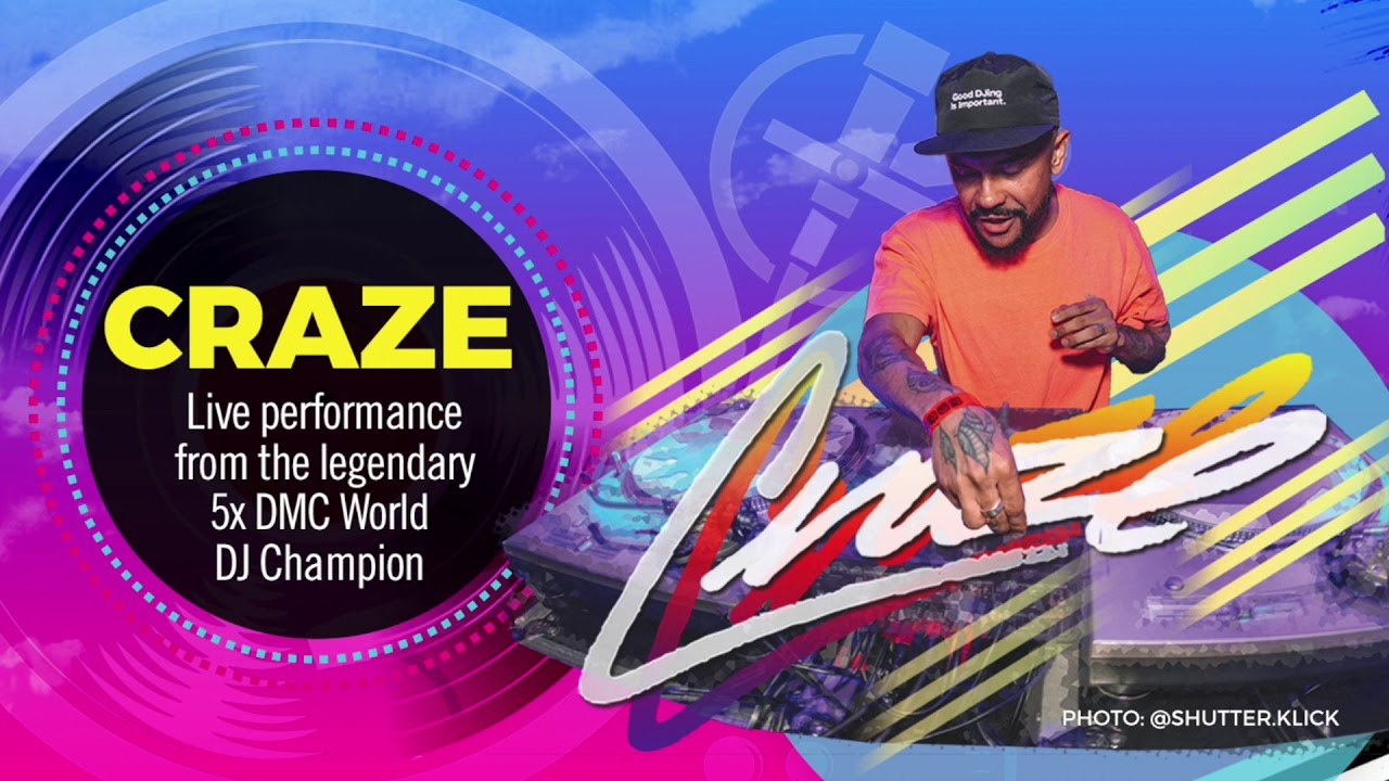 Rane presents The 2019 DMC World DJ Championships with DJ CRAZE