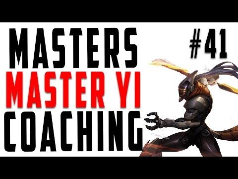 Masters Coaching #41 - Master Yi Jungle (Silver 4)