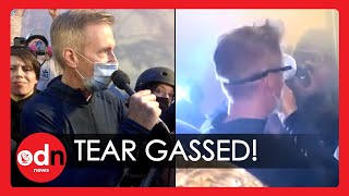 Portland's Mayor Tear Gassed While Protesting Donald Trump's Federal Officers