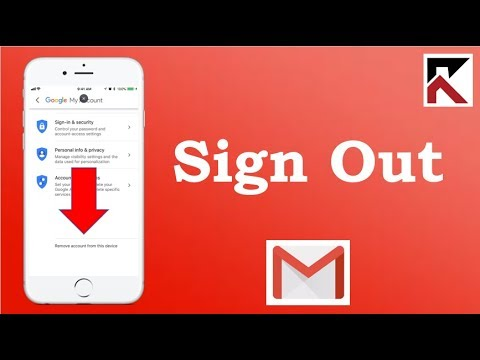 How To Sign Out Gmail Account Gmail IPhone