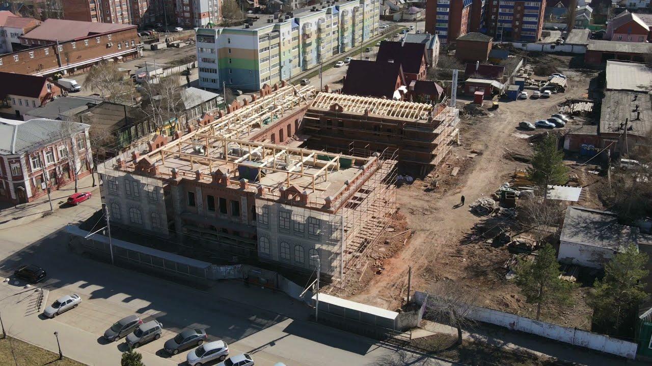 В Стерлитамаке продолжается реконструкция и реставрация «Дома Патрикеевых»
