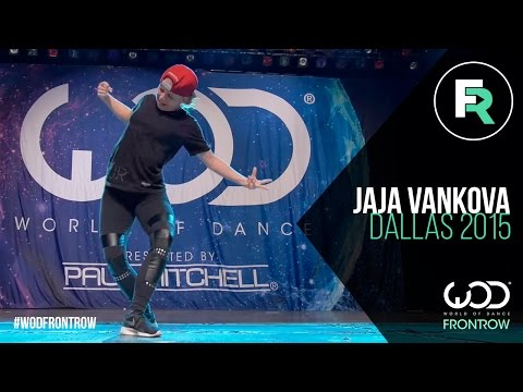 Jaja Vankova   FRONTROW   World of Dance Dallas 2015 #WODDALLAS2015