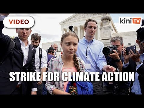 16-year-old Thunberg leads millions to strike for climate action
