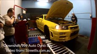 r34 gtr nearly breaks off dyno nitto 1074awhp 3 2l stroker rb26 rb30
