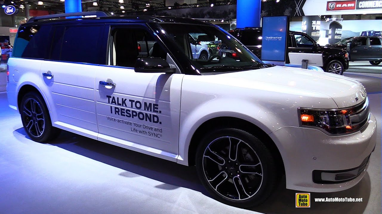 Ford Flex Limited Awd Exterior And Interior Walkaround  New York Auto Show