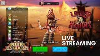 Challenging Keira on Ceroli Crisis event 10 times! - Rise of Kingdoms