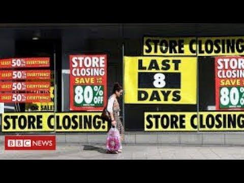 More economic gloom as UK borrowing hits record levels - BBC News