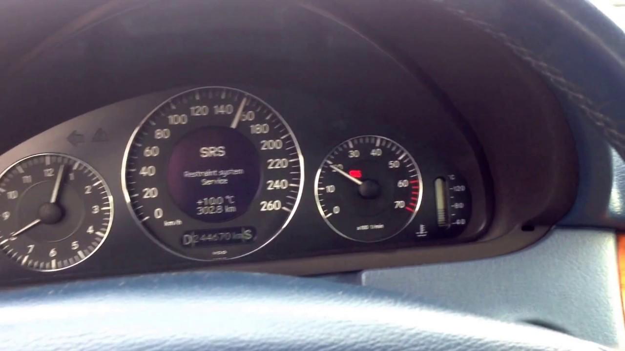 Mercedes clk240 w209 2002 gearbox errors p2502 for Mercedes benz limp mode