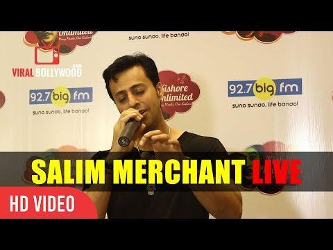 Salim Merchant Singing Live His My Favorite Song Is Tere Bina Zidagi Se Koi Shikwa