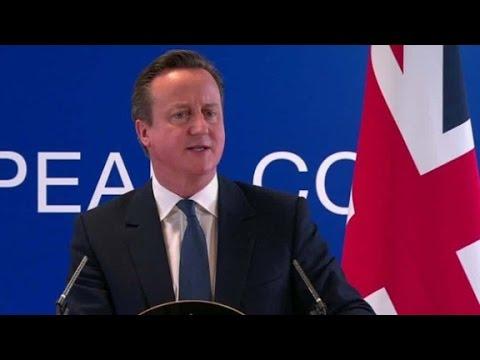 British PM: We