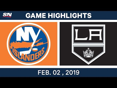 NHL Highlights | Kings vs. Islanders - Feb. 2, 2019