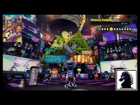 Wii U Splatoon - The 9th European Splatfest - Get Fit vs Get Rich
