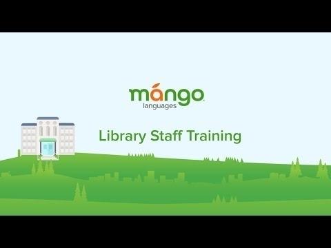 Mango Languages Library Staff Training